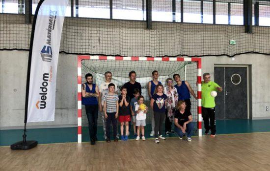 MS Matériaux avec le COS Handball pour une journée découverte