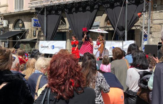 MS Matériaux aux côtés du Carnaval de la Corse in Sartè